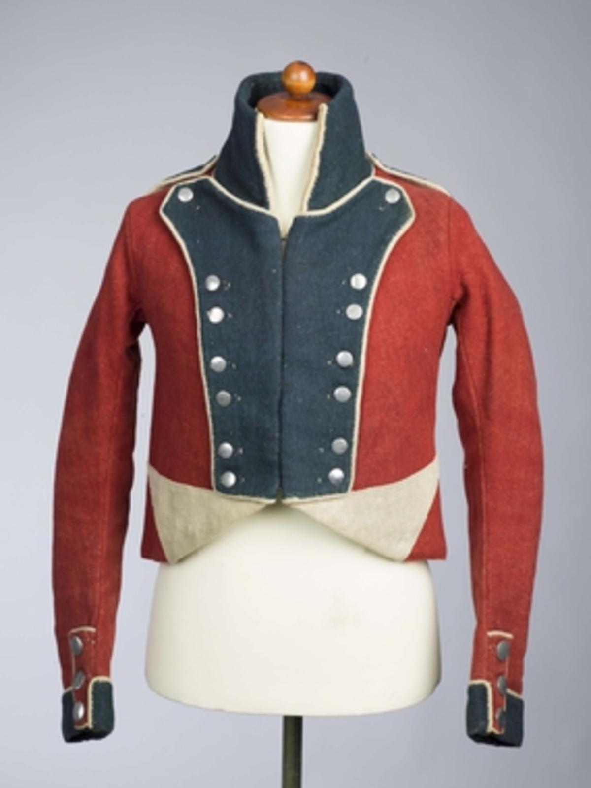 Soldatuniform fra 1808.