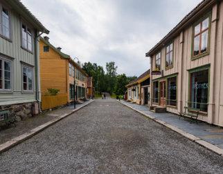 Byen på Maihaugen, Lillehammer.
