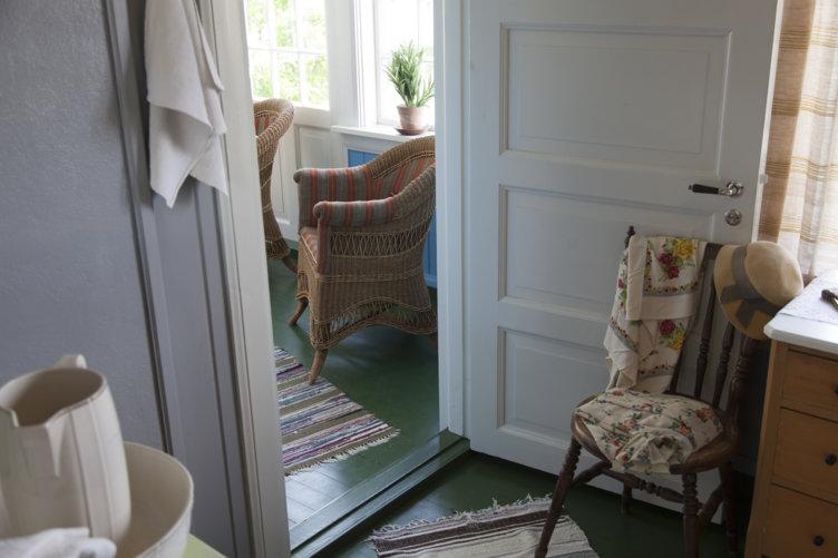 1920-tallshuset interiør på Maihaugen på Lillehammer.