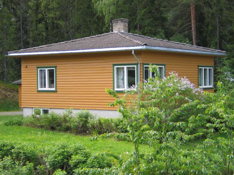 Funkishuset fra 1939 står på Maihaugen i Lillehammer.