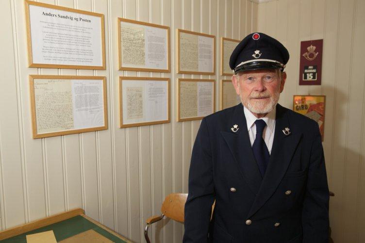 Postmesteren på Postmuseet, maihaugen, Lillehammer