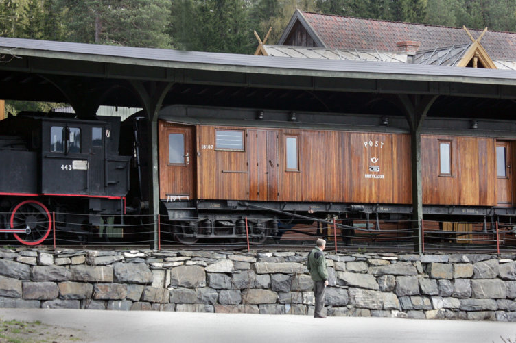 Postvogn på Maihaugen