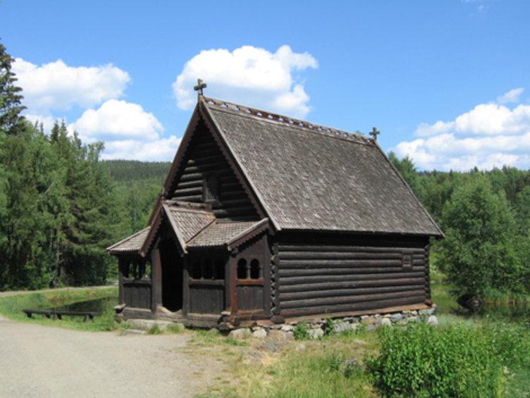Fiskerkapellet ligger på Maihaugen, Lillehammer