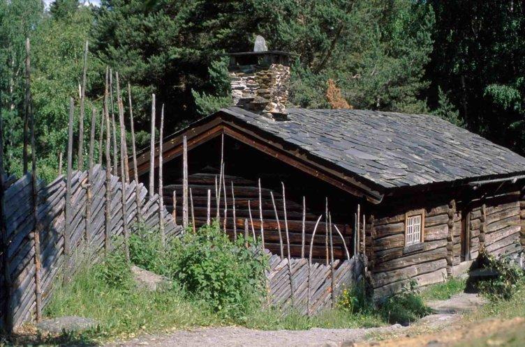 Barhussetra, Maihaugen, Lillehammer. Foto: Maihaugen.