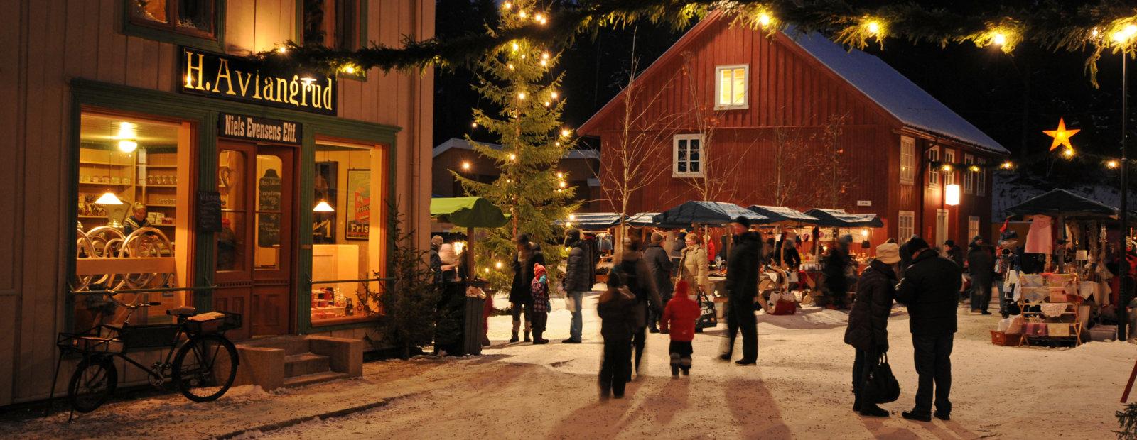 Julegata på Maihaugen, Lillehammer.