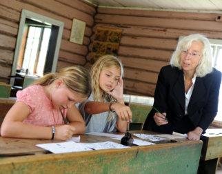 Skoletime på Maihaugen, Lillehammer