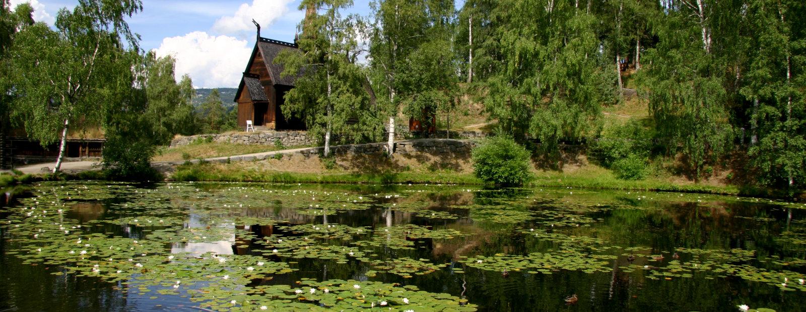 Tjernet på Maihaugen på Lillehammer.
