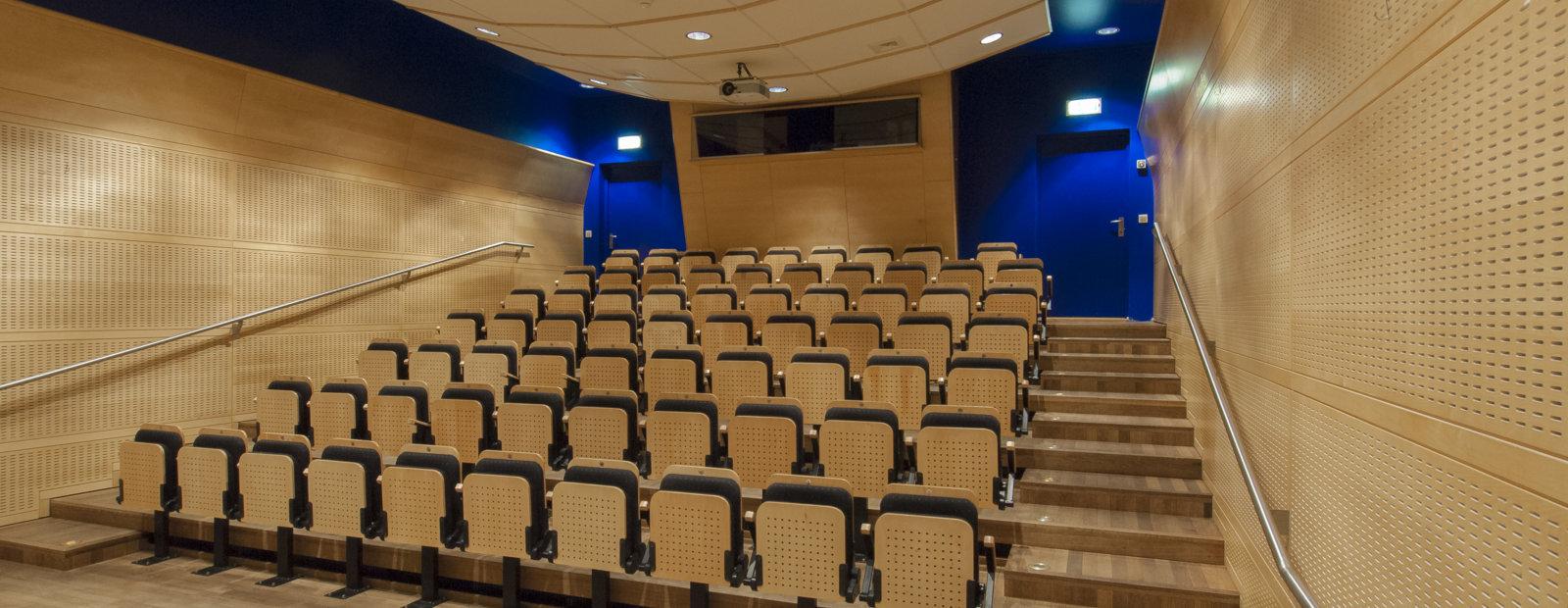 Auditoriet på Maihaugen, Lillehammer.