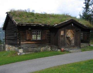 Gjestestua på Maihaugen, Lillehammer.