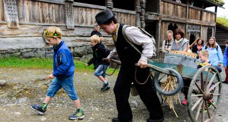 Vandreteater på Maihaugen, Lillehammer.