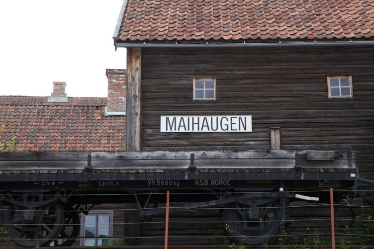 Stasjonsbygning på Maihaugen, Lillehammer