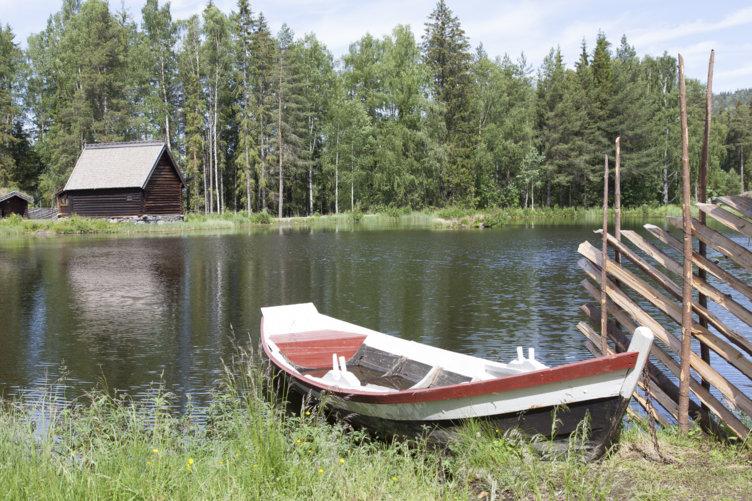 Fiskerkapellet på Maihaugen på Lillehammer.
