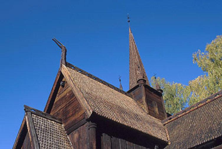 Garmokirka Maihaugen, Lillehammer. Foto: Maihaugen