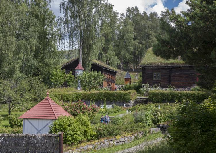 Prestegårdshagen på Maihaugen på Lillehammer