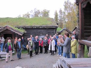 Venneforeningen på Bjørnstad. Foto: Maihaugen